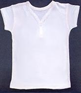 シルクワンボタンシャツ